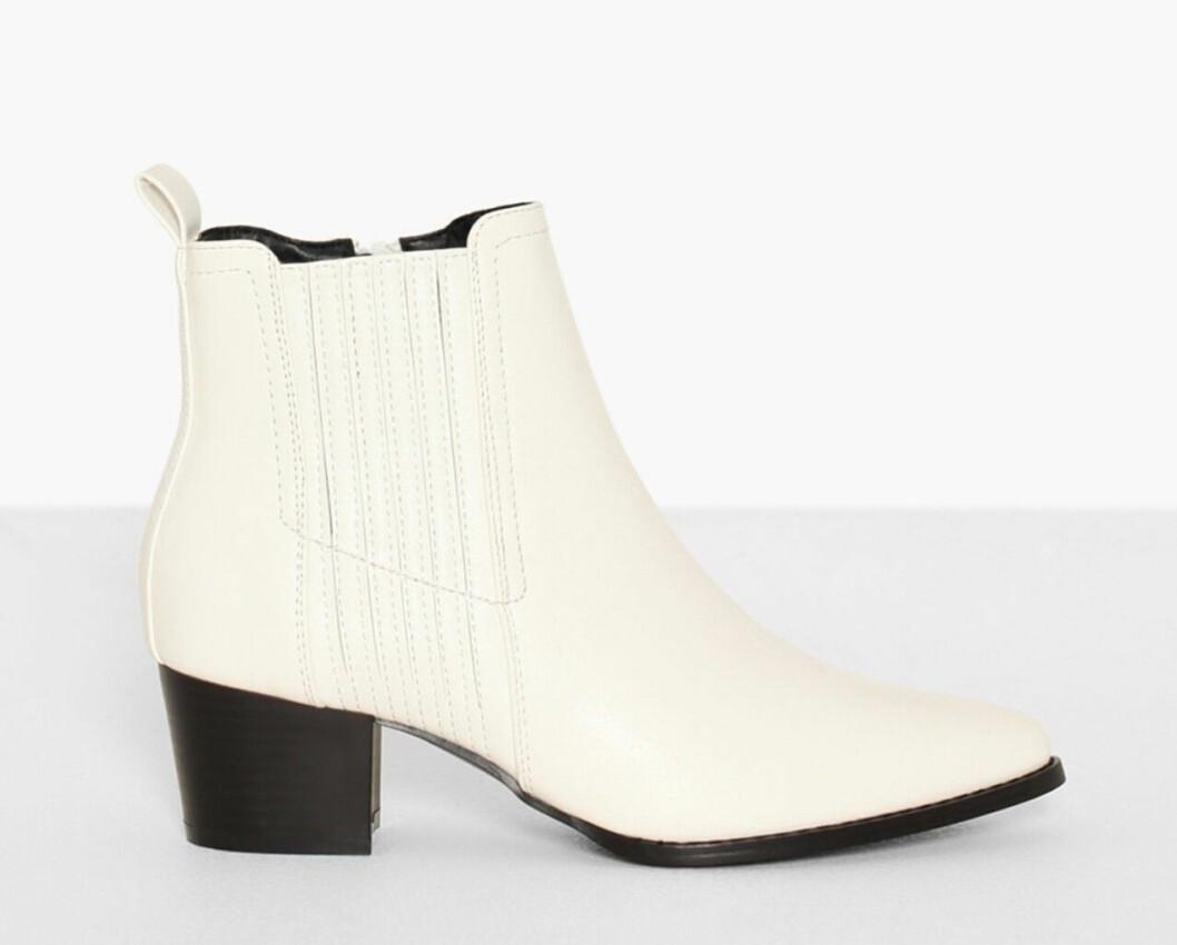 Vita boots för dam till hösten 2019