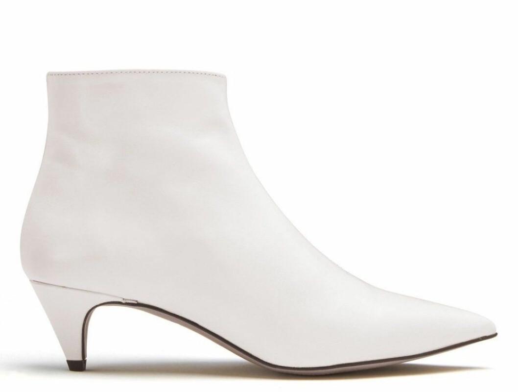 Vita boots för dam till våren 2019