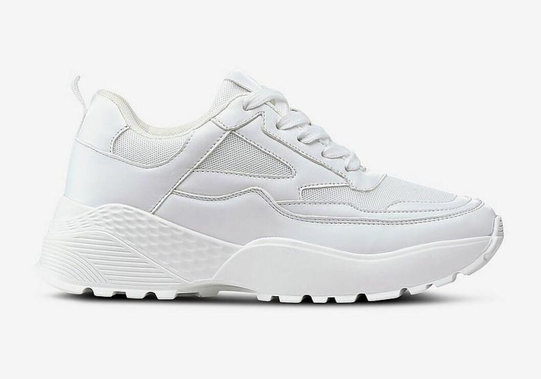 Vita chunky sneakers för dam till 2019