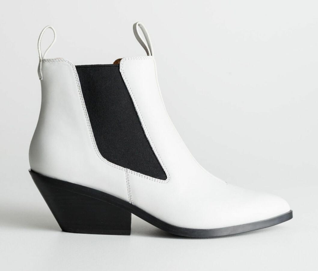 Vita cowboy-boots till hösten 2018