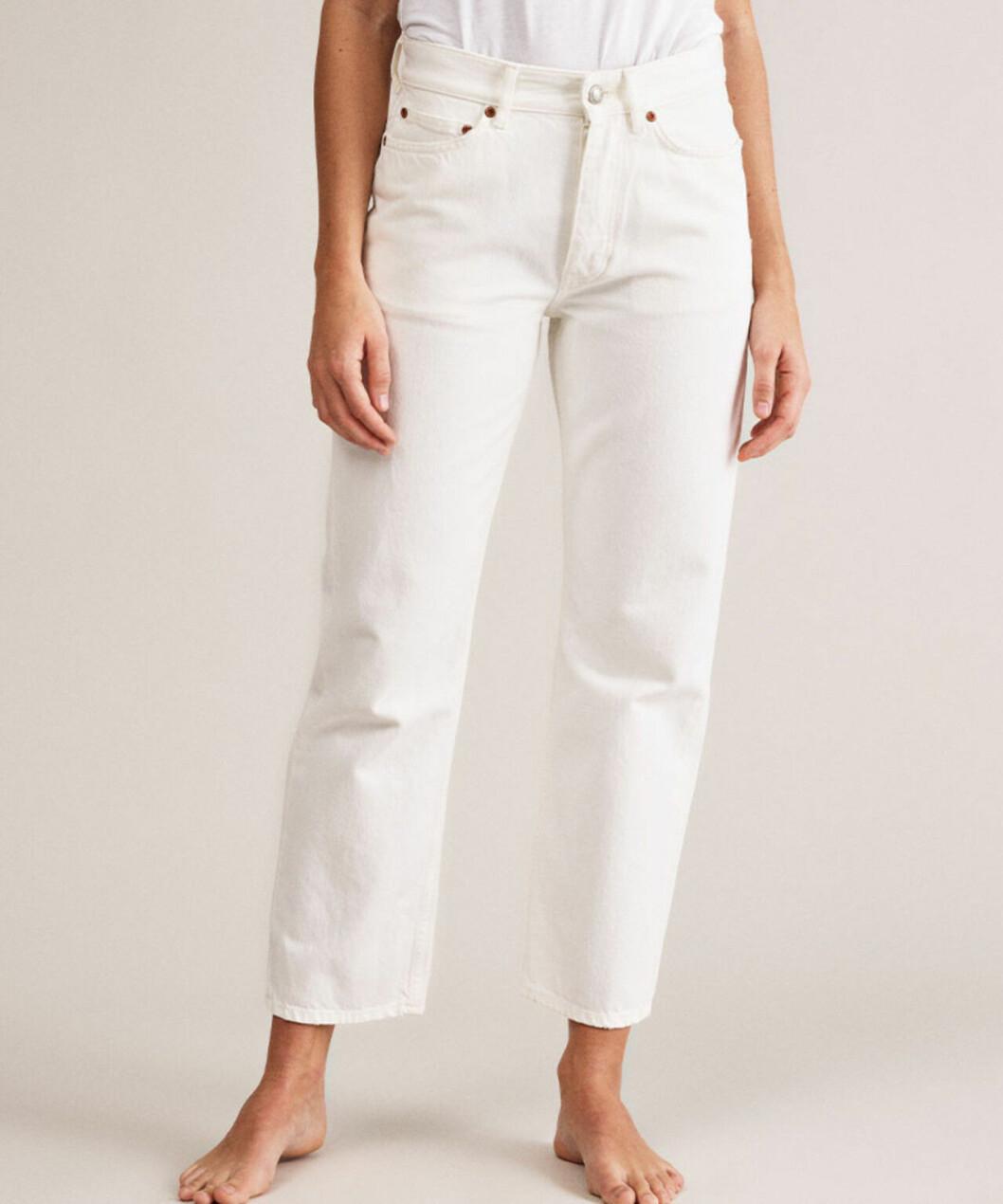 Vita jeans från Won hundred för dam