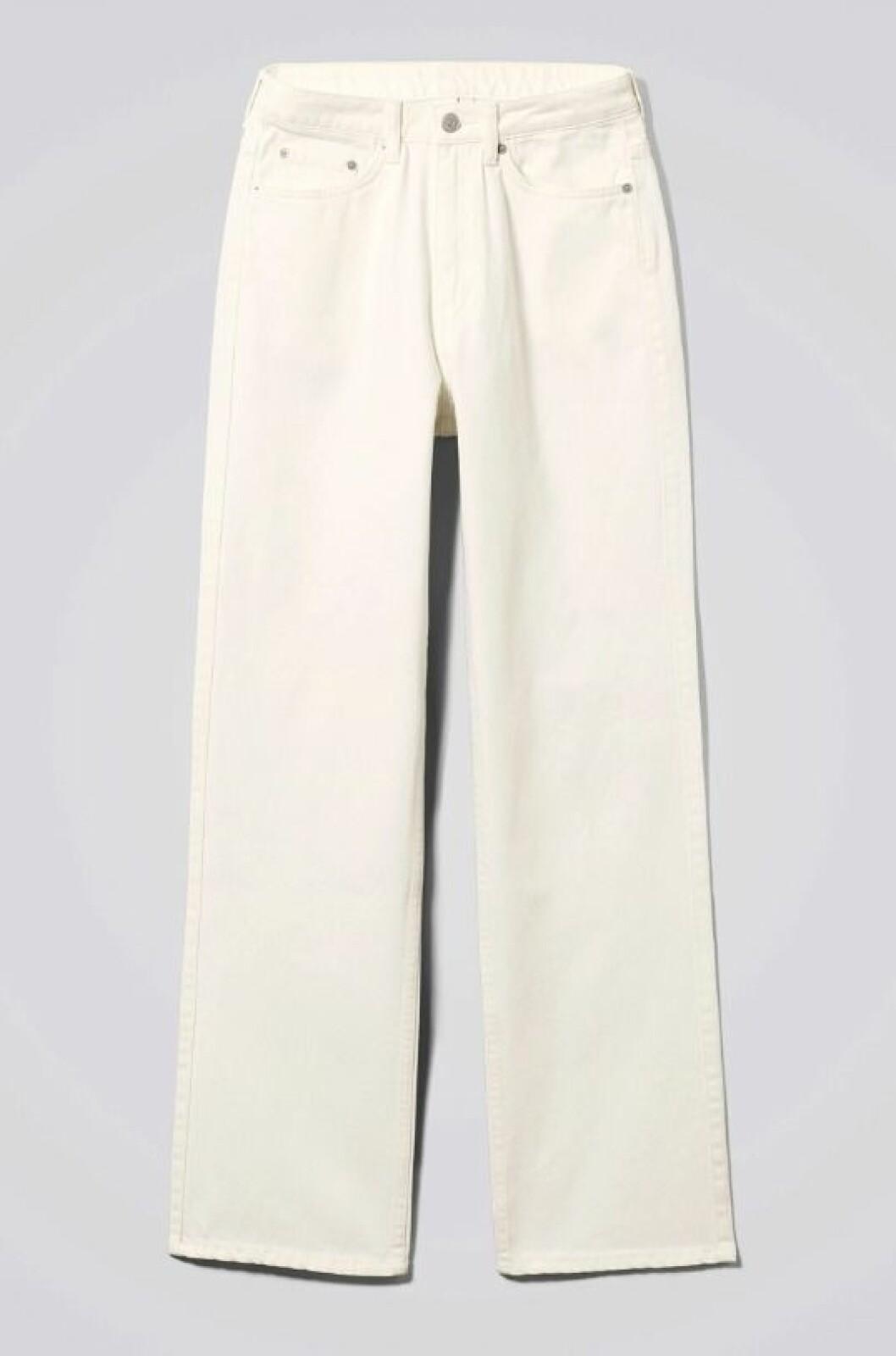 Vita jeans för dam till våren 2020