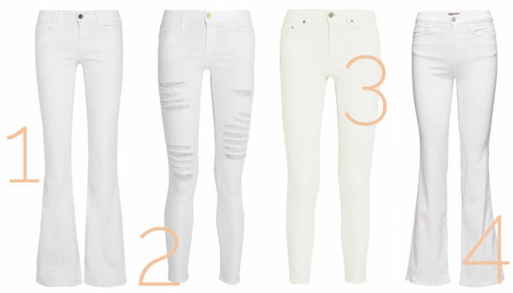 vita jeans vårmode 2016