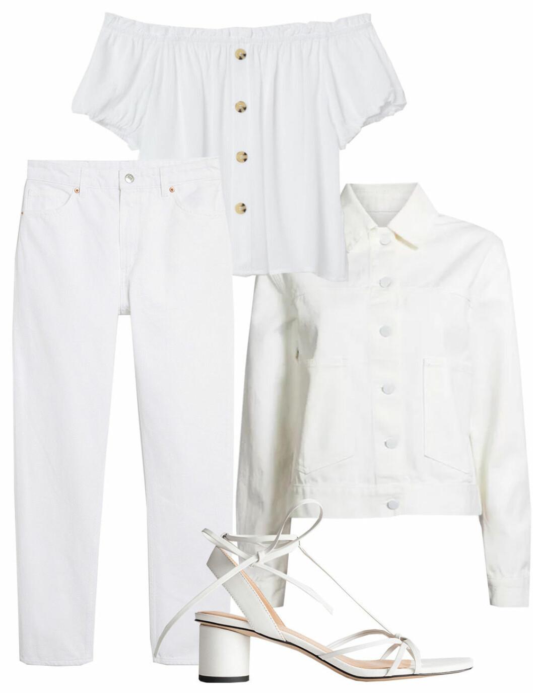 Vita kläder till midsommar 2019