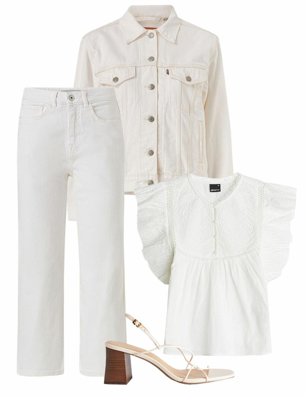 Vita kläder till midsommar 2020