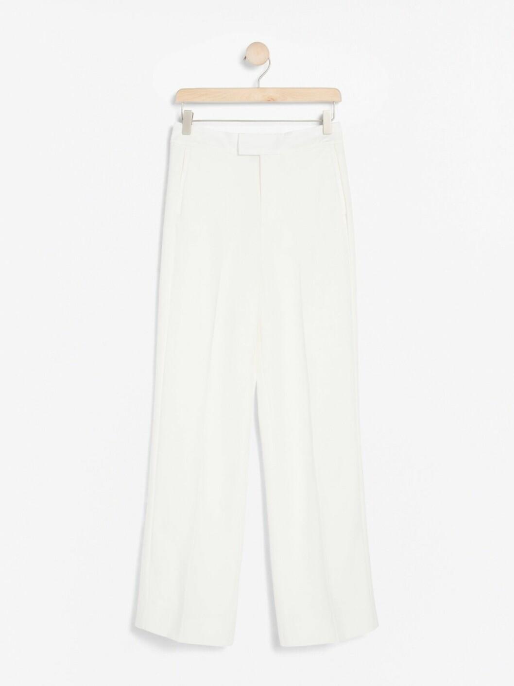 Vita kostymbyxor för dam till 2019