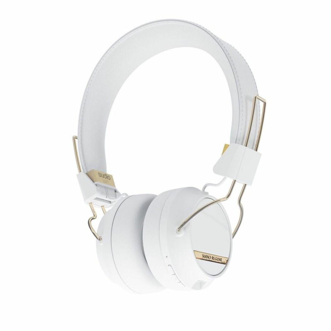 Vita on ears-hörlurar från Sudio