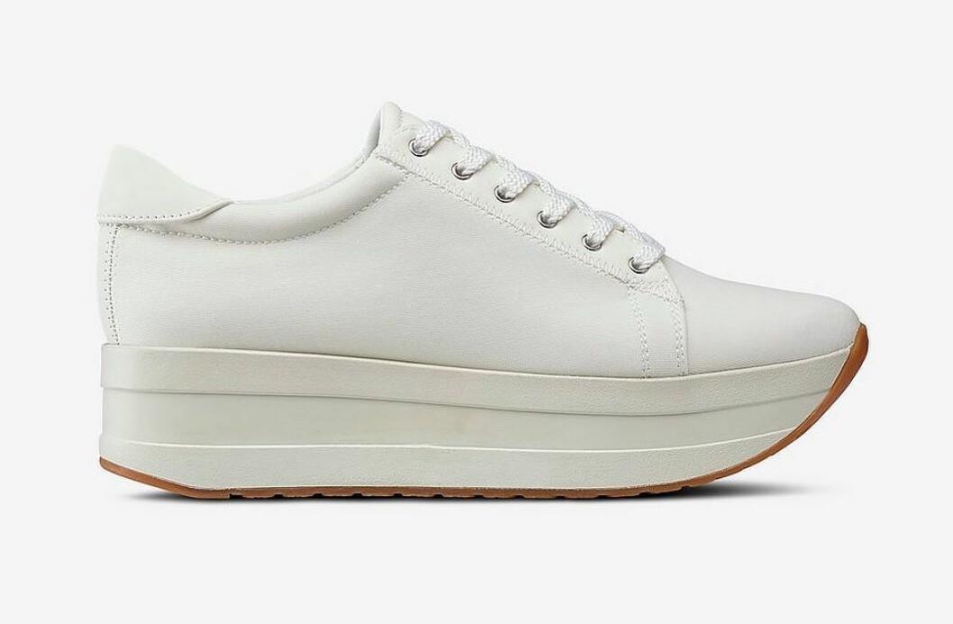 Vita sneakers för dam till våren 2019