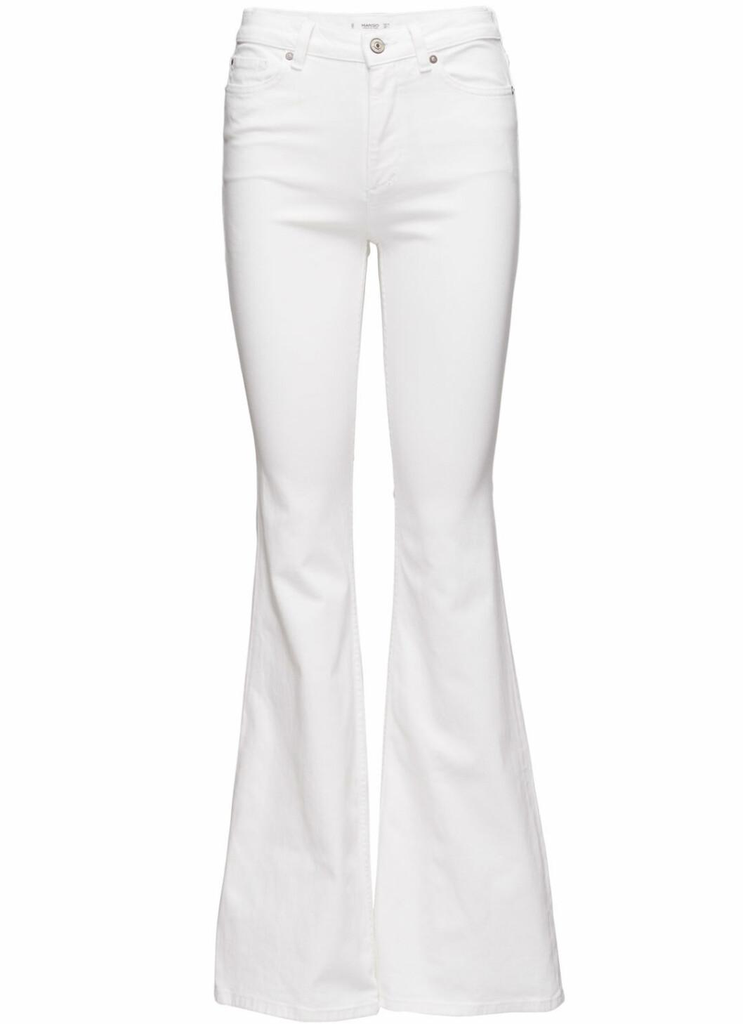 vita utsvangda jeans