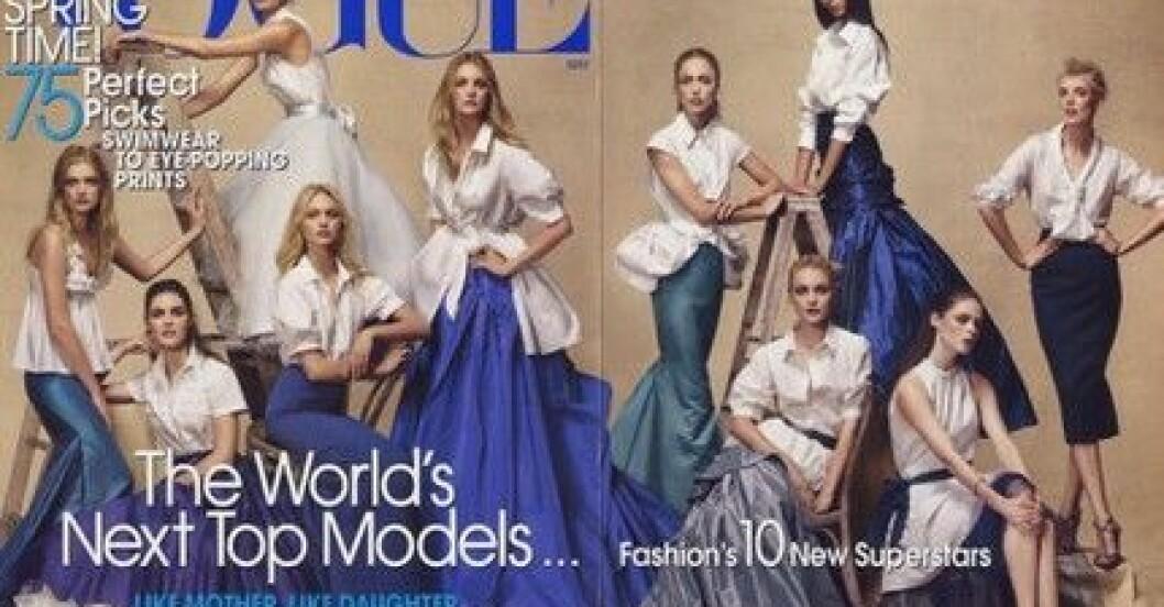 Vogue maj 2007. Klicka för större bild!