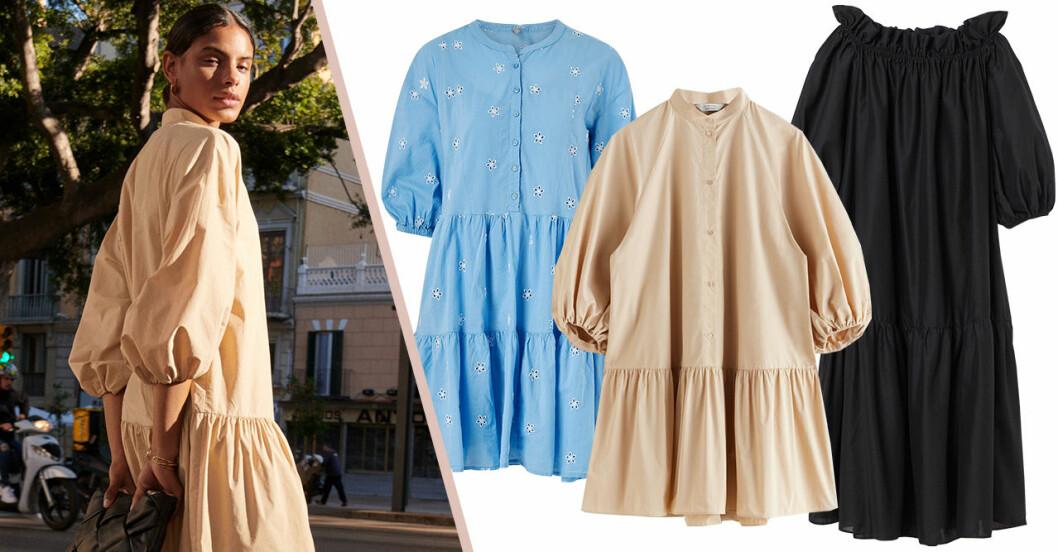 Volangklänningar med volym för dam till 2020