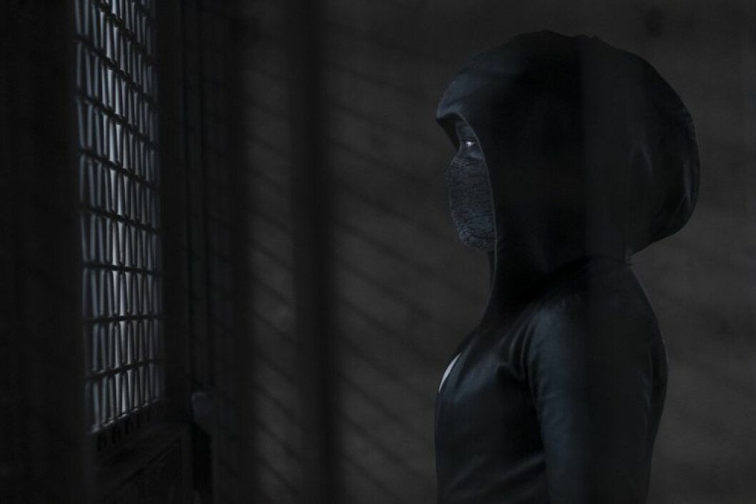 En bild från tv-serien Watchmen, som har premiär på HBO den 21 oktober.