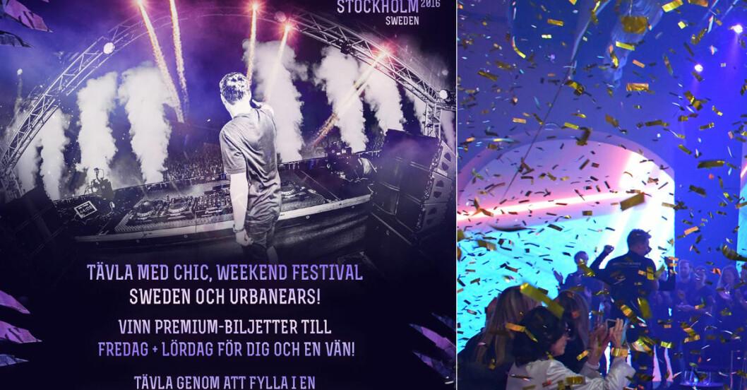 weekend festival 2016 biljetter
