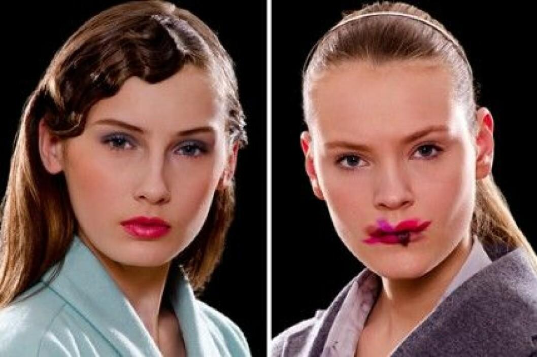 Makeup från Max Factor hos Carin Wester och BACK, A/W 2011.