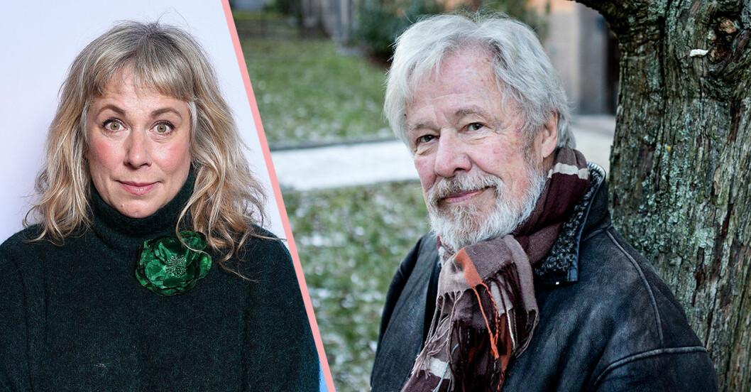 Stina Wollter och Sven Wollter