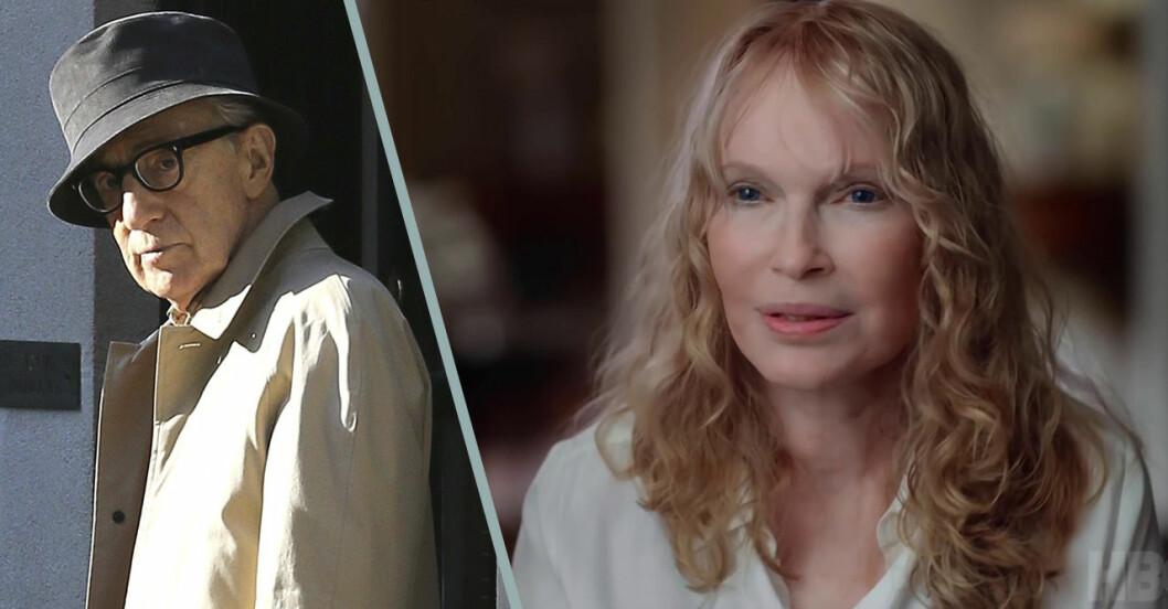 Woody Allen och Mia Farrow