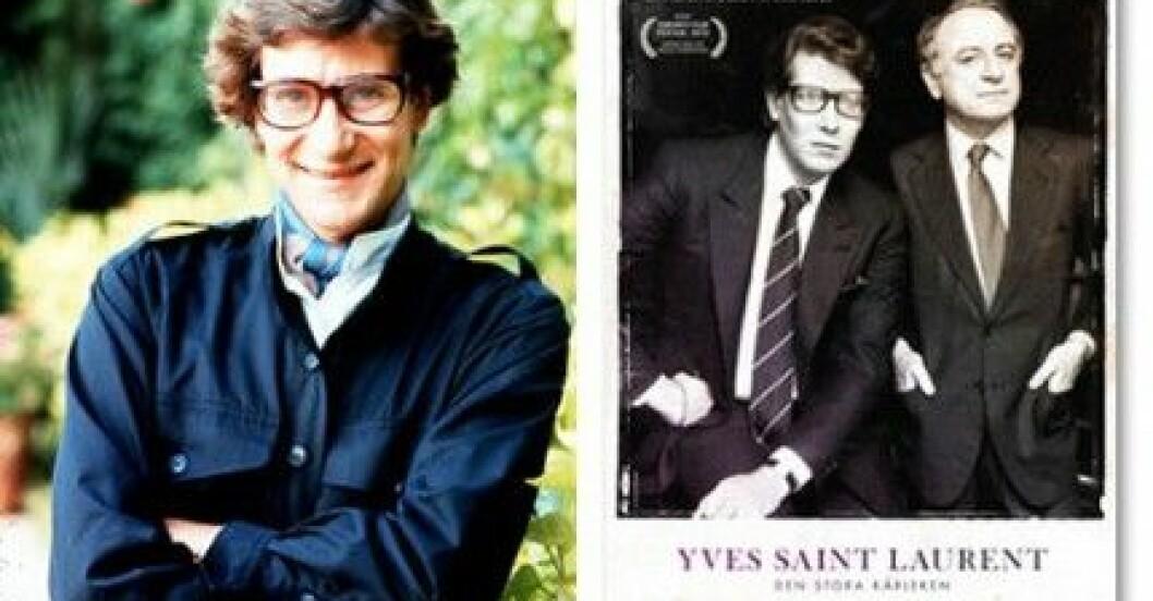 """""""Yves Saint Laurent - Den stora kärleken"""" har svensk premiär den 15 oktober."""