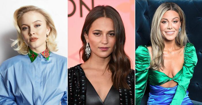Zara Larsson, Alicia Vikander, Bianca Ingrosso.