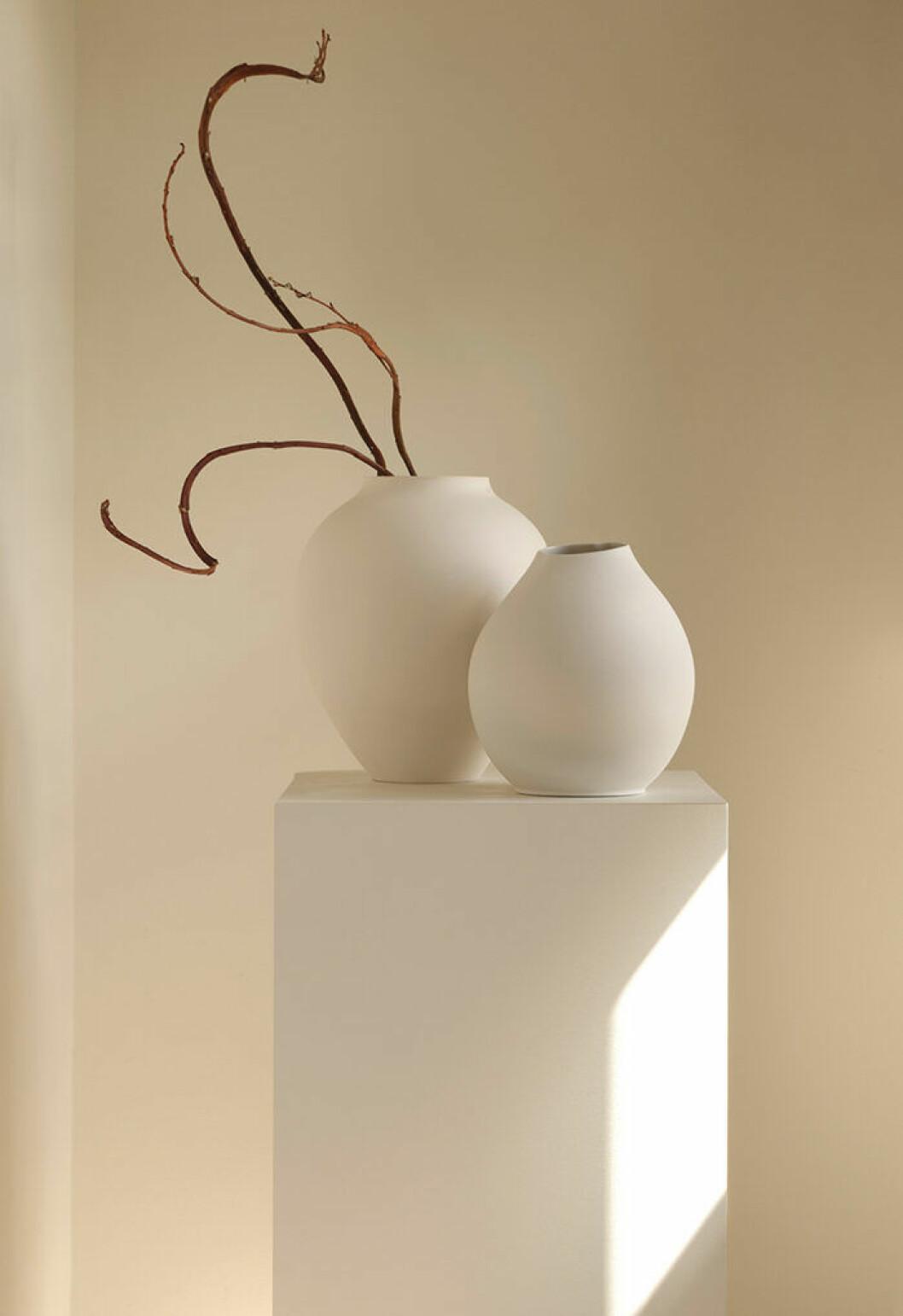 Vita vaser från Zara Home