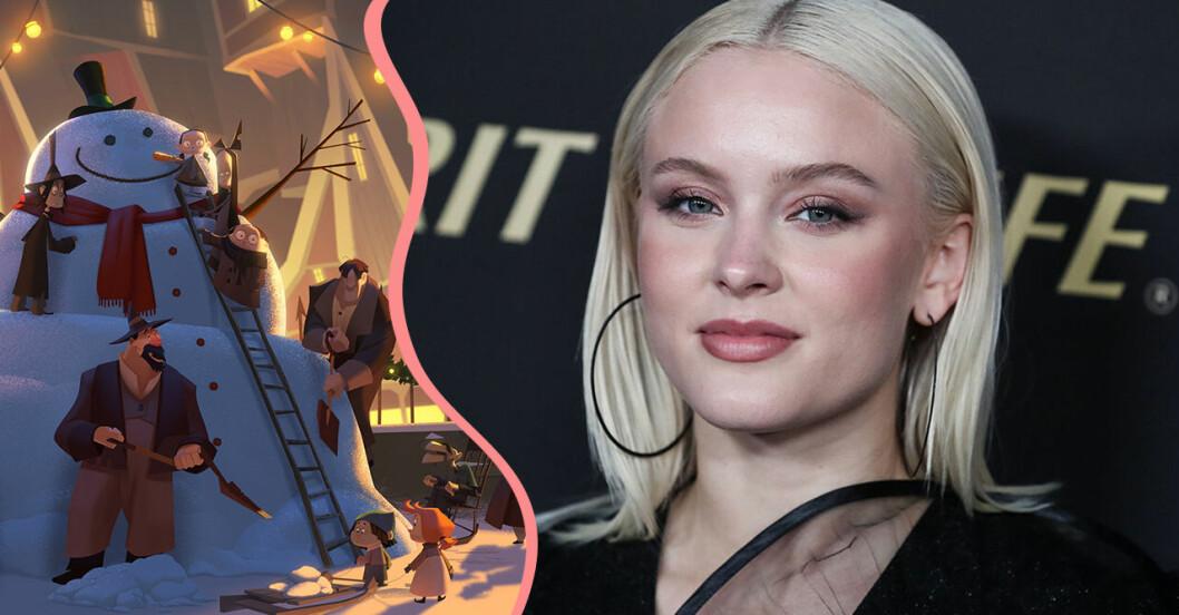 Zara Larsson gör ledmotivet Invisible i filmen Klaus på Netflix