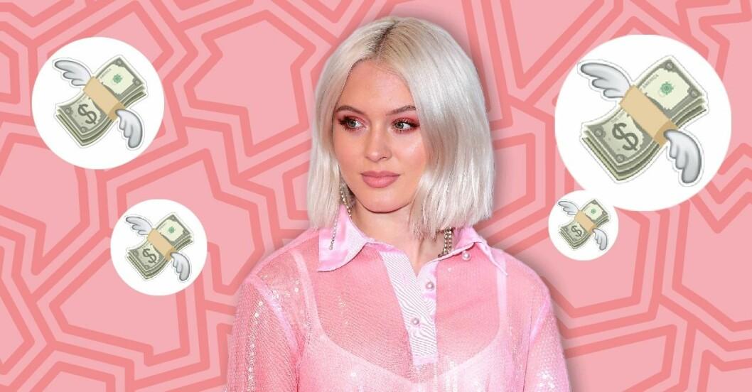 Zara Larsson tjänar stora pengar på Instagram