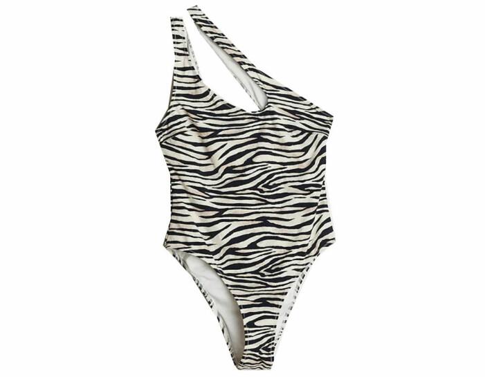 zebramönstrad bikini gina tricot