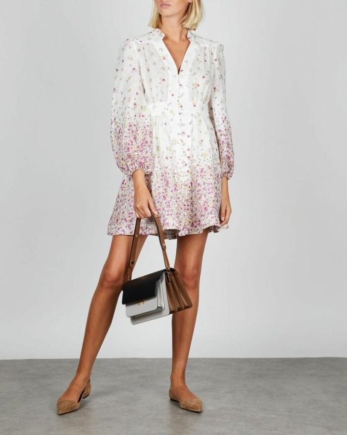 Blommig klänning Zimmerman
