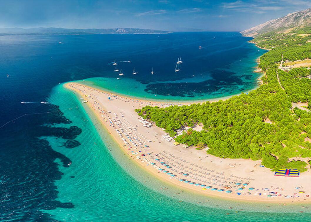 Zlatni Rat är en Instagram-vänlig strand i Kroatien